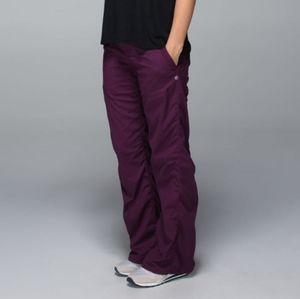 Lululemon Dance Studio Pants Plum